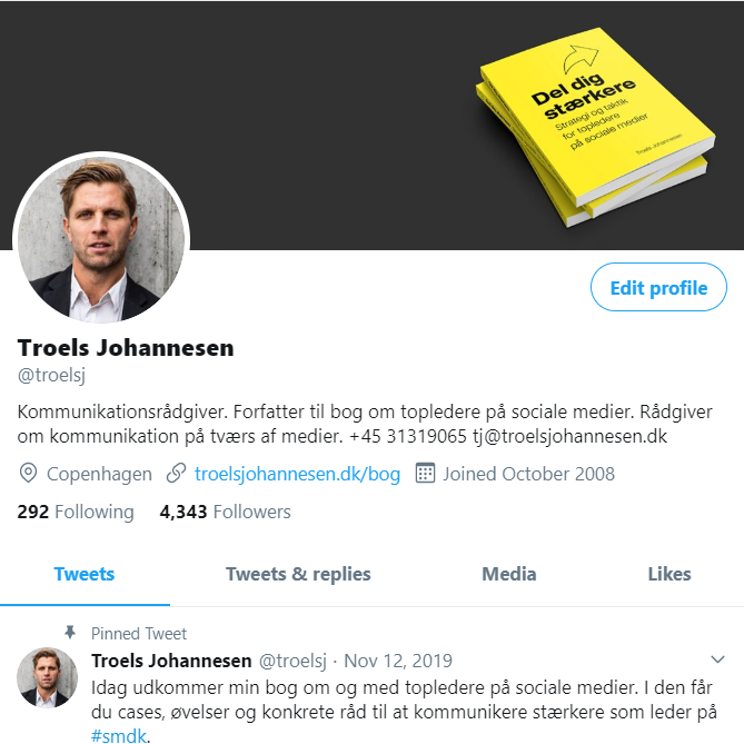 Twitter-profil